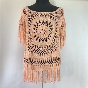Demanding by Say What? Boho Style Pullover Top